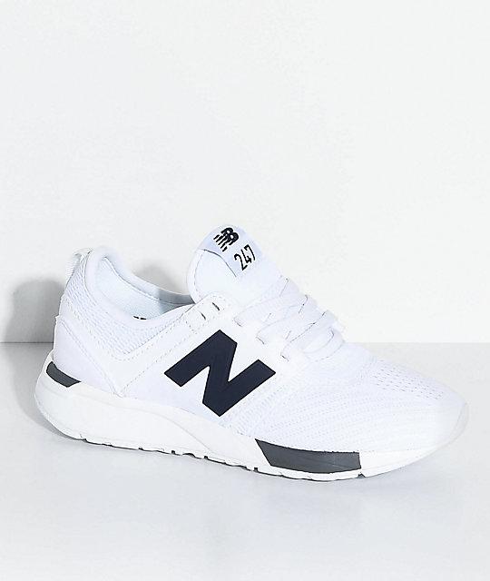 new balance white shoes