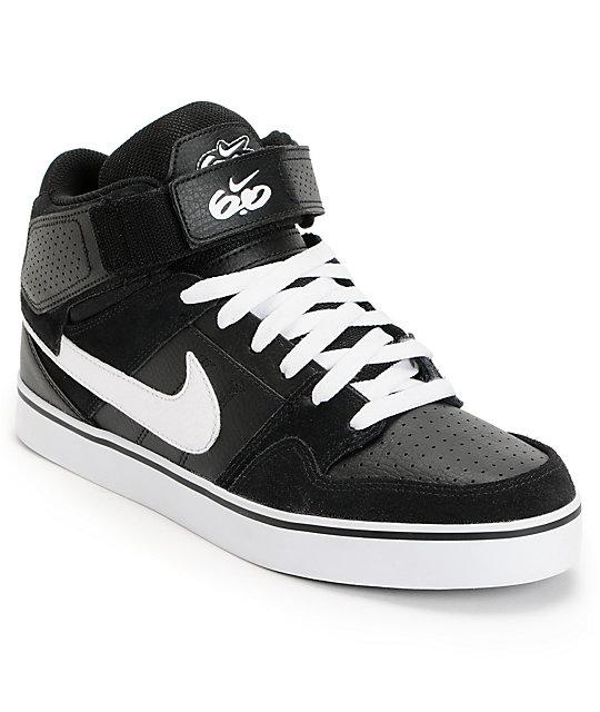 chaussures de sport 8417c 47dfe Nike 6.0 Air Mogan Mid 2 SE Black & White Shoes