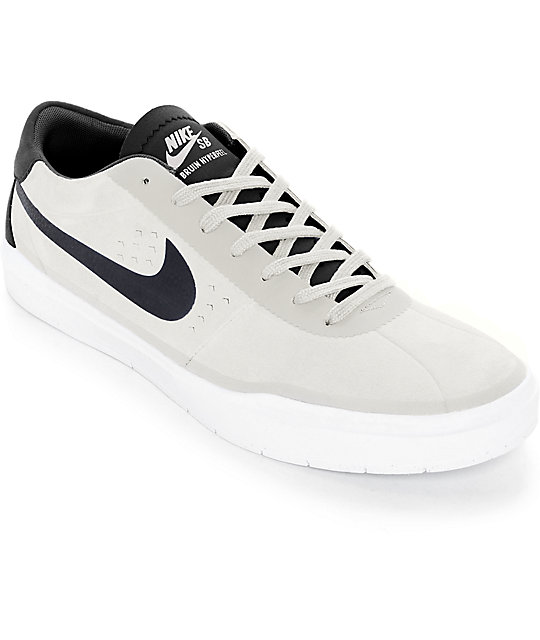8084970a4ee Nike SB Bruin Hyperfeel Summit White   Black Skate Shoes