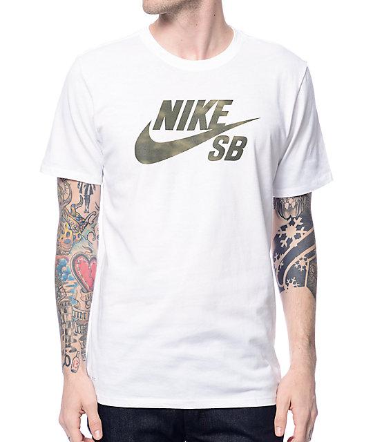 Camiseta Dri Blanca Sb Shadow Fit Nike QdCBeroExW