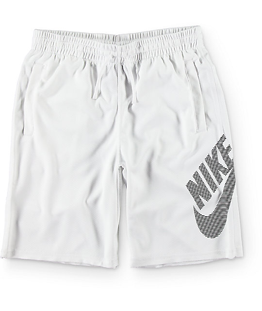 39ef2c27a Nike SB Dri-Fit Sunday Stripe White Shorts | Zumiez