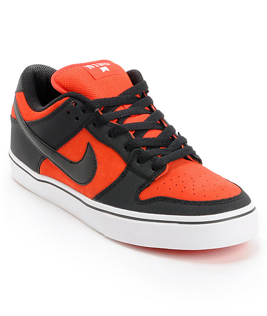 new concept 0d64e ae5cc Nike SB Dunk Low LR Pimento, White, & Black Skate Shoes