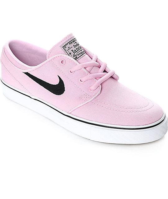 new arrival 13ef4 98625 Nike SB Janoski Prism Pink Canvas Women s Skate Shoes ...