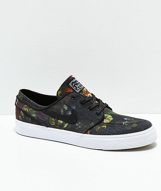 Lienzo Nike Sb Zapatos De Floral Janoski v80wmONn