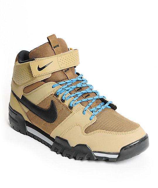huge selection of b59ac f5f77 Nike SB Mogan Mid 2 OMS Filbert & Dark Khaki Shoes