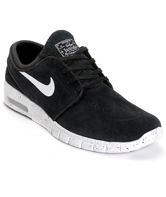 Janoski En Nike Negro Zapatos Sb Y De Blanco Ante Max Stefan SGMpVzqU