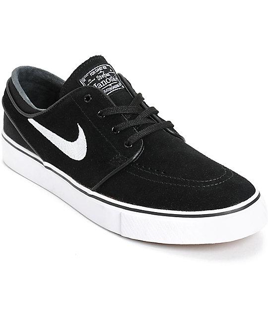 0d0352c61d5 ... new zealand nike sb zoom stefan janoski black white skate shoes 5c741  1b93a ...