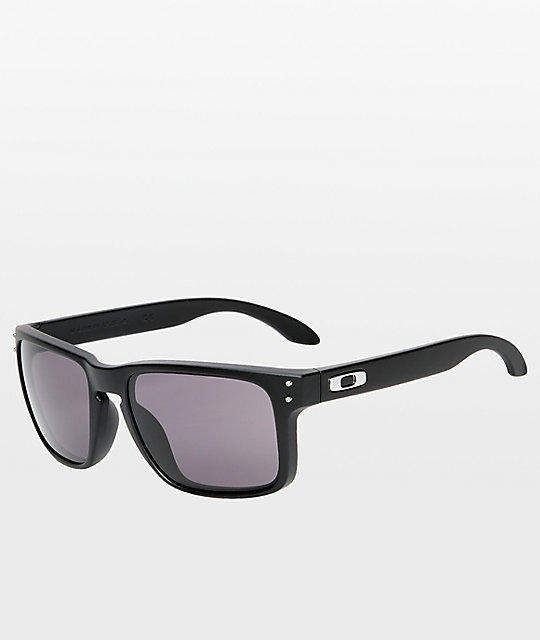 9b101c488a6b Oakley Holbrook Matte Black & Warm Grey Glasses | Zumiez