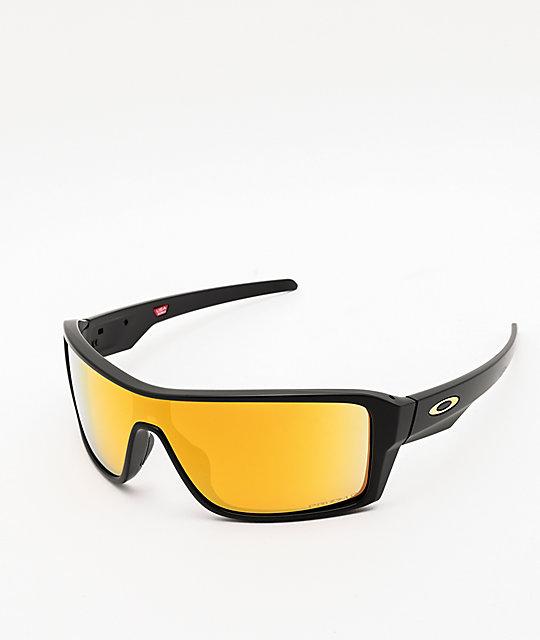 De Sol Negro 24k Ridgeline Gafas Oakley En Prizm Polarizadas CdoQxWrBe