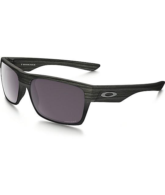 9e4f76d381d1 Oakley TwoFace Prizm Polarized Woodgrain Sunglasses | Zumiez