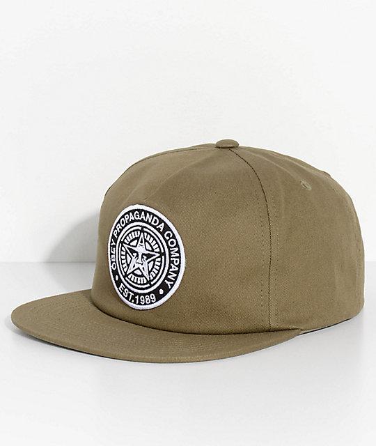 632d6b55494e48 Obey Established 89 II Olive Snapback Hat | Zumiez