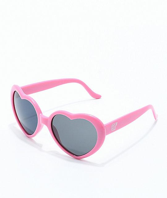 3c486770cf3 Odd Future Pink Heart Sunglasses