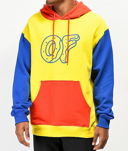 dabeadbb Odd Future Primary Colorblock Hoodie | Zumiez