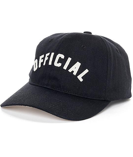 9fdcf0ca3 Official Ark Black Strapback Hat