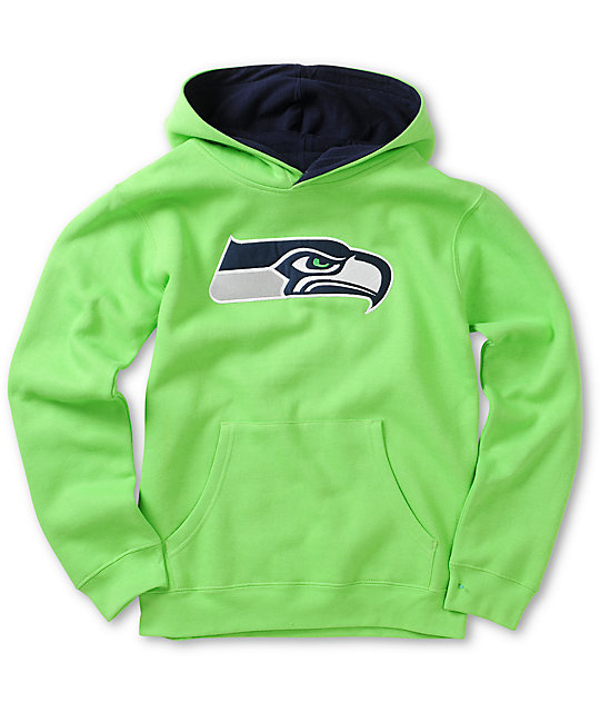 new styles f6af2 35807 Outerstuff Boys Primary Seahawks Hoodie