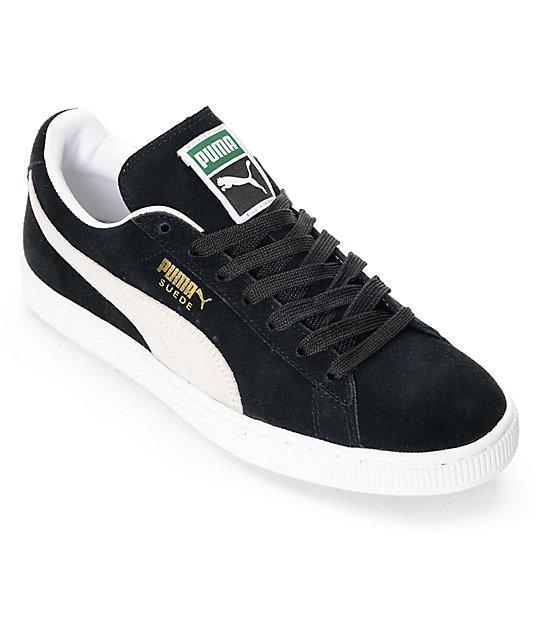 design intemporel f9abe 194d6 PUMA Suede Classic + Black Shoes