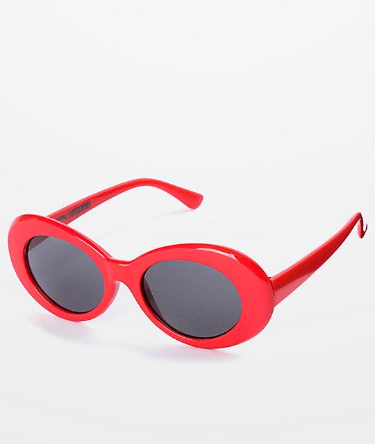 043f4635f14e Petals   Peacocks Nevermind Red Sunglasses