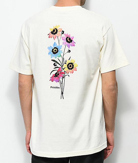8cdb85a4 Primitive Daze Cream T-Shirt | Zumiez