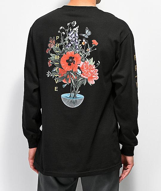 fd64d440 Primitive Memento Black Long Sleeve T-Shirt | Zumiez