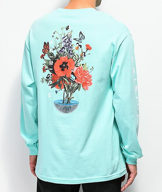80de9971 Primitive Memento Celadon Long Sleeve T-Shirt | Zumiez