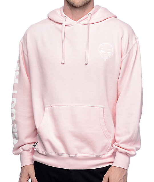c5d88c45 RIPNDIP Get Outer Here Light Pink Hoodie | Zumiez