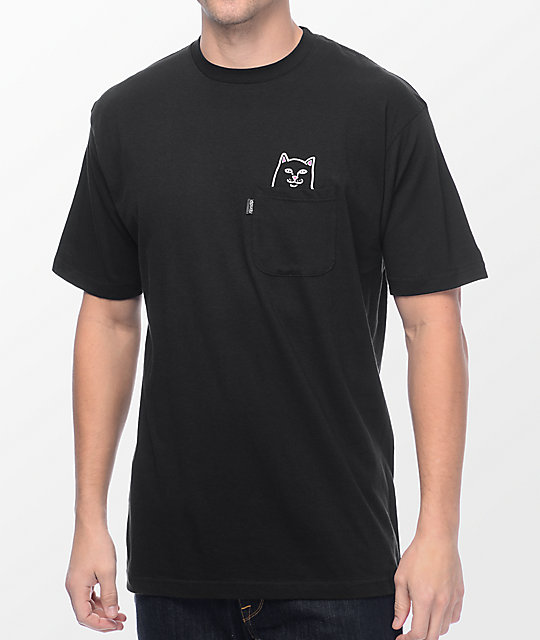 d0ebbeefd82d RIPNDIP Lord Jermal Black Pocket T-Shirt   Zumiez