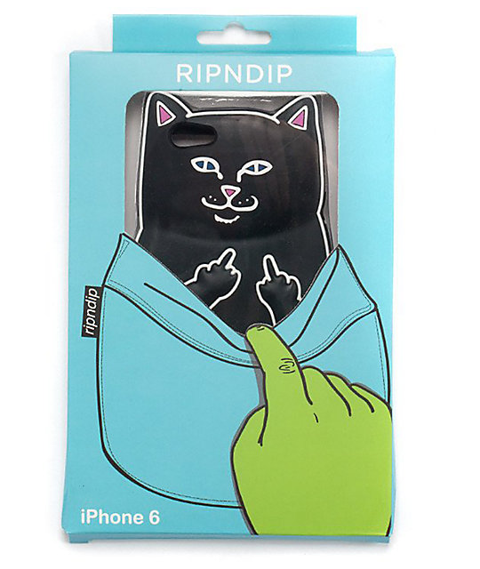 huge selection of 08f81 a3017 RIPNDIP Lord Jermal IPhone 6 Case