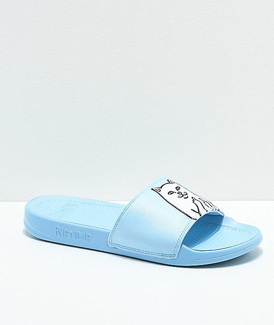 Nermal Light Blue Lord Sandals Slide Ripndip fvIY6g7mby