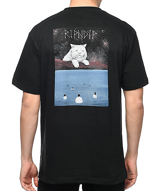 2e036e916937 RIPNDIP Nermiverse Black Pocket T-Shirt   Zumiez