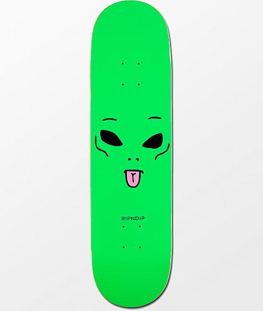 RIPNDIP Skate Sticker WE OUT HERE SPACE rip n dip skateboards helmets decal