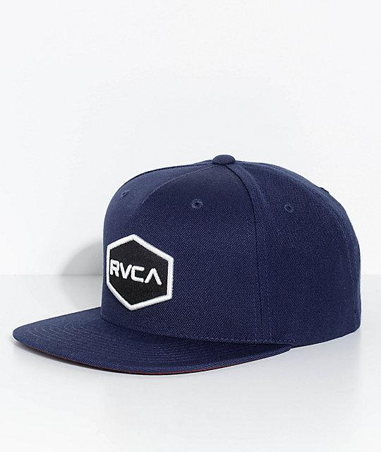 cc00dc1578290a RVCA Commonwealth Navy Snapback Hat | Zumiez