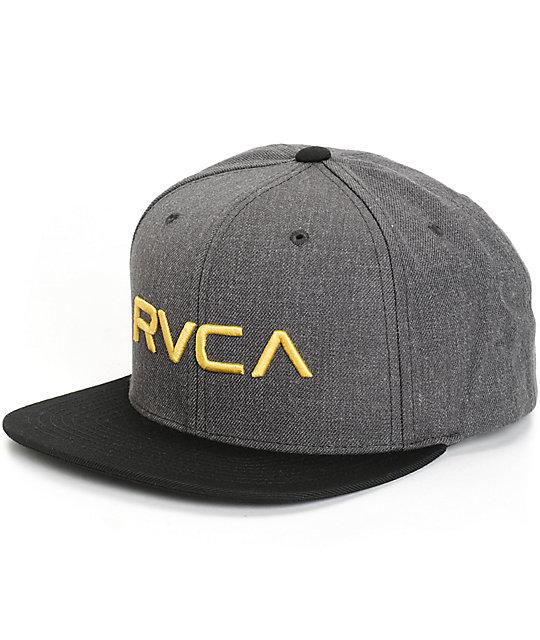 a04a65477c9eda RVCA Twill Snapback Hat | Zumiez