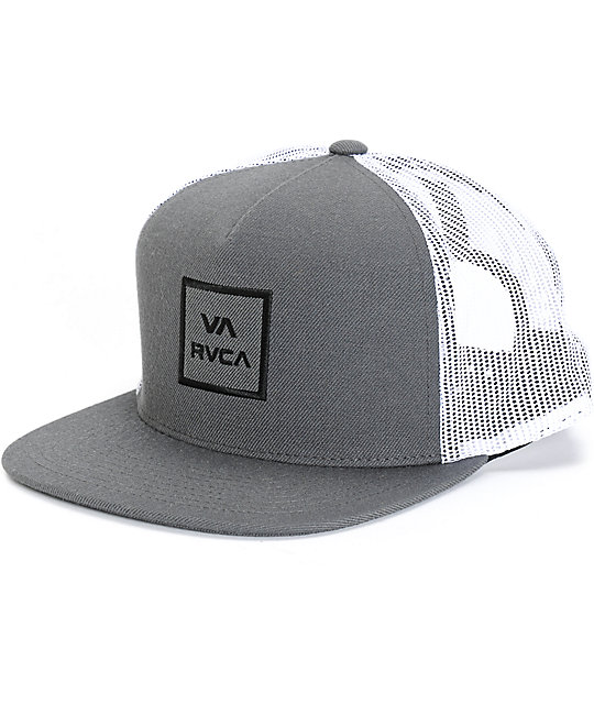 half off 74214 730a6 RVCA VA All The Way Trucker Hat   Zumiez