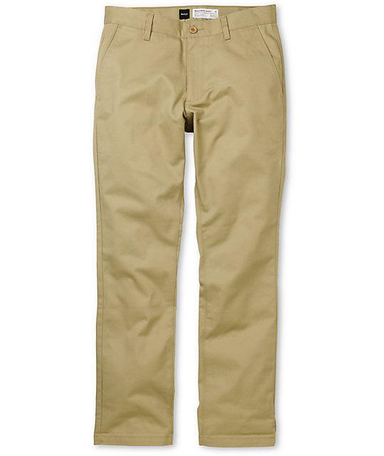3c6ffbe86431c9 RVCA Week-End Khaki Slim Fit Chino Pants | Zumiez