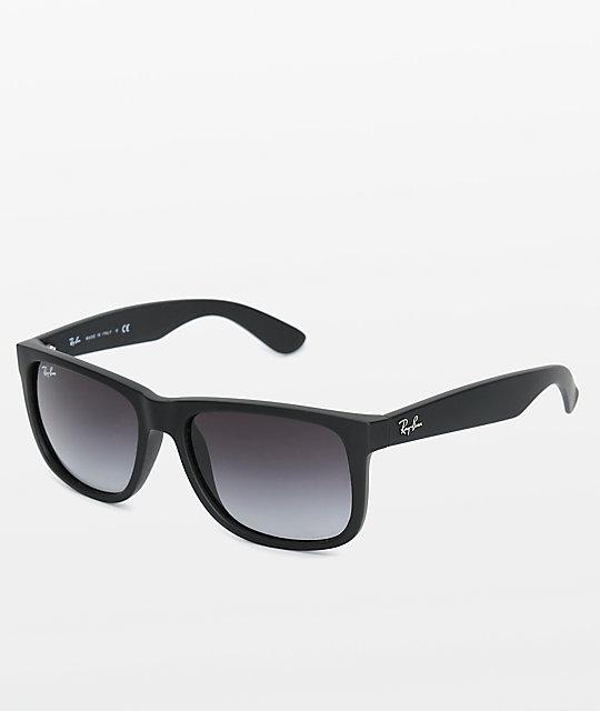 0198ed76a9e4 Ray-Ban Justin Grey Gradient Sunglasses | Zumiez