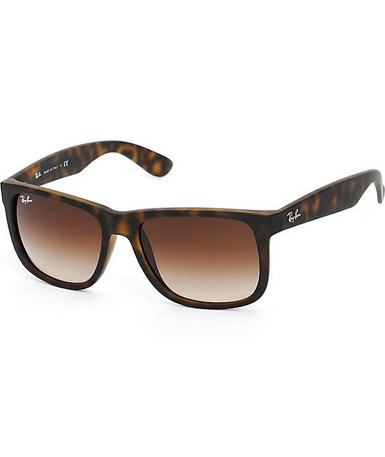En Ray Carey Ban Justin De Sol Gafas Havana Rj34A5L