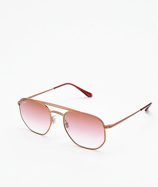 Gafas Ban En Marrón Brillantes Ray Rosa Rb3609 Sol De Semi Y dCBWrxoe