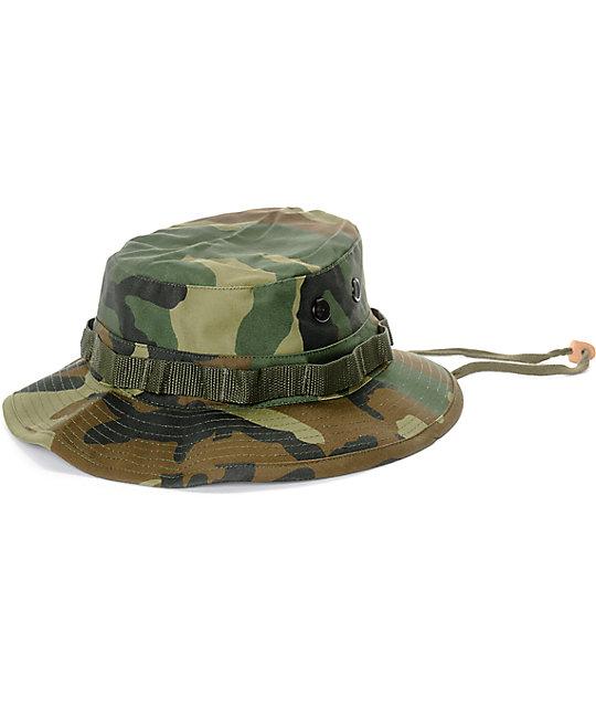 d7339493 Rothco Boonie Woodland Camouflage Bucket Hat | Zumiez
