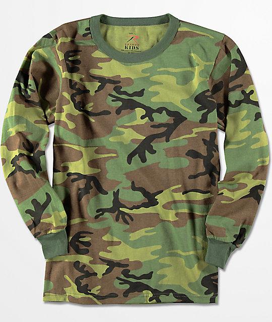 a50f150a2d12 Rothco Boys Camo Long Sleeve T-Shirt | Zumiez