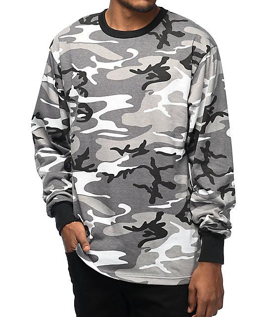 fdb78cb69fe0 Rothco City Camo Long Sleeve T-Shirt | Zumiez