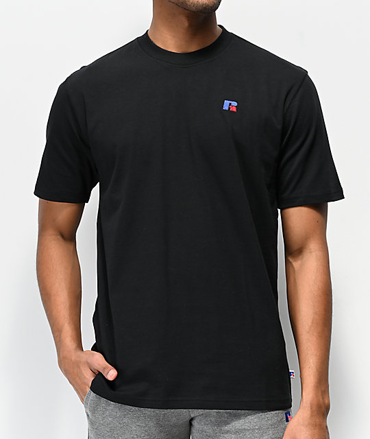 e753464f3ad Russell Athletic Baseliner Black T-Shirt | Zumiez