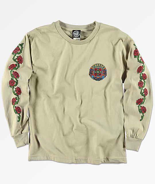 b03670907b8b Santa Cruz Boys Dressen Roses Long Sleeve T-Shirt | Zumiez