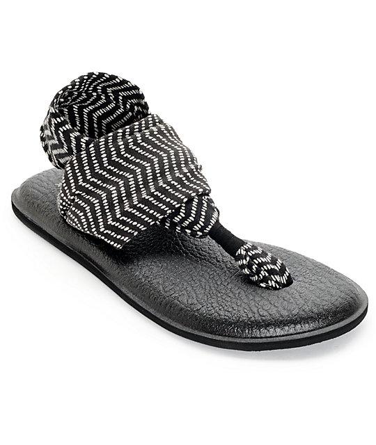 Congo Natural Sanuk Blackamp; 2 Yoga Sandals Sling rQCtshd
