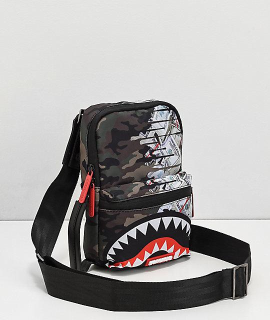 4a044fcdc9822e Sprayground Psycho Shark Crossbody Bag | Zumiez