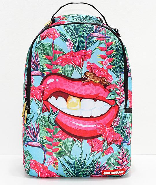 4aefb9b4aa0 Sprayground Runnin' Wild Lips Backpack