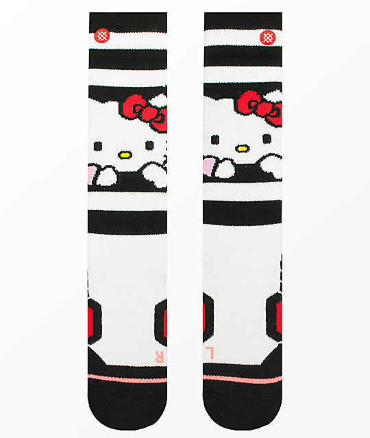 96b45ac17 Stance Hello Kitty White Snowboard Socks | Zumiez