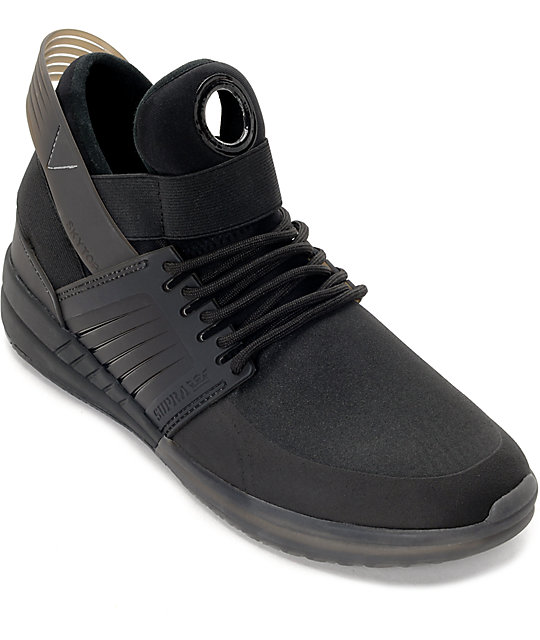 Supra Skytop V Black Shoes  57ffa2357a1