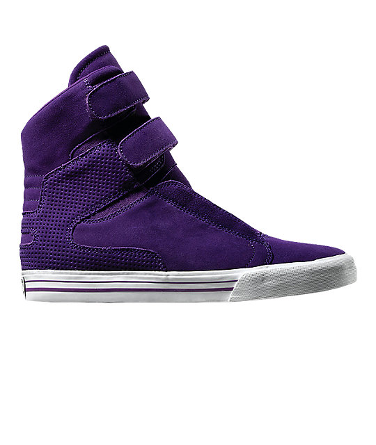 low priced 58bdb 717e6 Supra TK Society Purple Suede Shoes ...