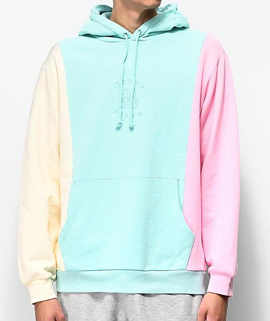 06ddd90b Teddy Fresh Pastel Colorblock Hoodie | Zumiez