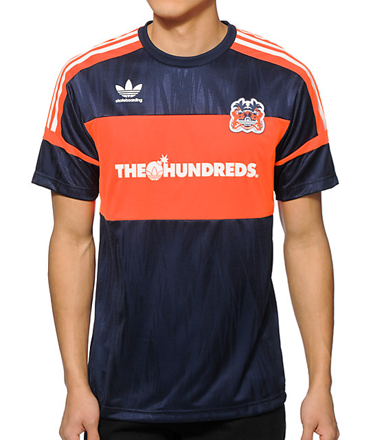 cheap for discount dea7f 1b7d0 The Hundreds x adidas Soccer Jersey